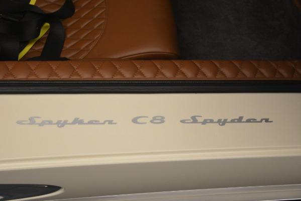 Used 2006 Spyker C8 Spyder for sale Sold at Alfa Romeo of Westport in Westport CT 06880 25