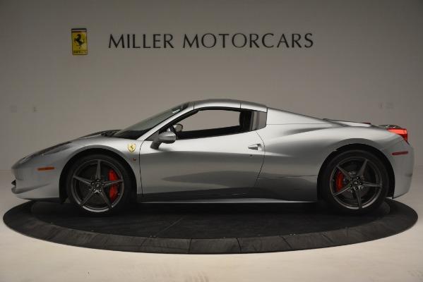 Used 2015 Ferrari 458 Spider for sale Sold at Alfa Romeo of Westport in Westport CT 06880 14