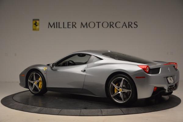 Used 2014 Ferrari 458 Italia for sale Sold at Alfa Romeo of Westport in Westport CT 06880 4