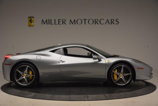 Used 2014 Ferrari 458 Italia for sale Sold at Alfa Romeo of Westport in Westport CT 06880 9