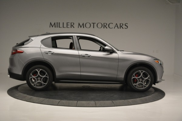 New 2018 Alfa Romeo Stelvio Sport Q4 for sale Sold at Alfa Romeo of Westport in Westport CT 06880 8
