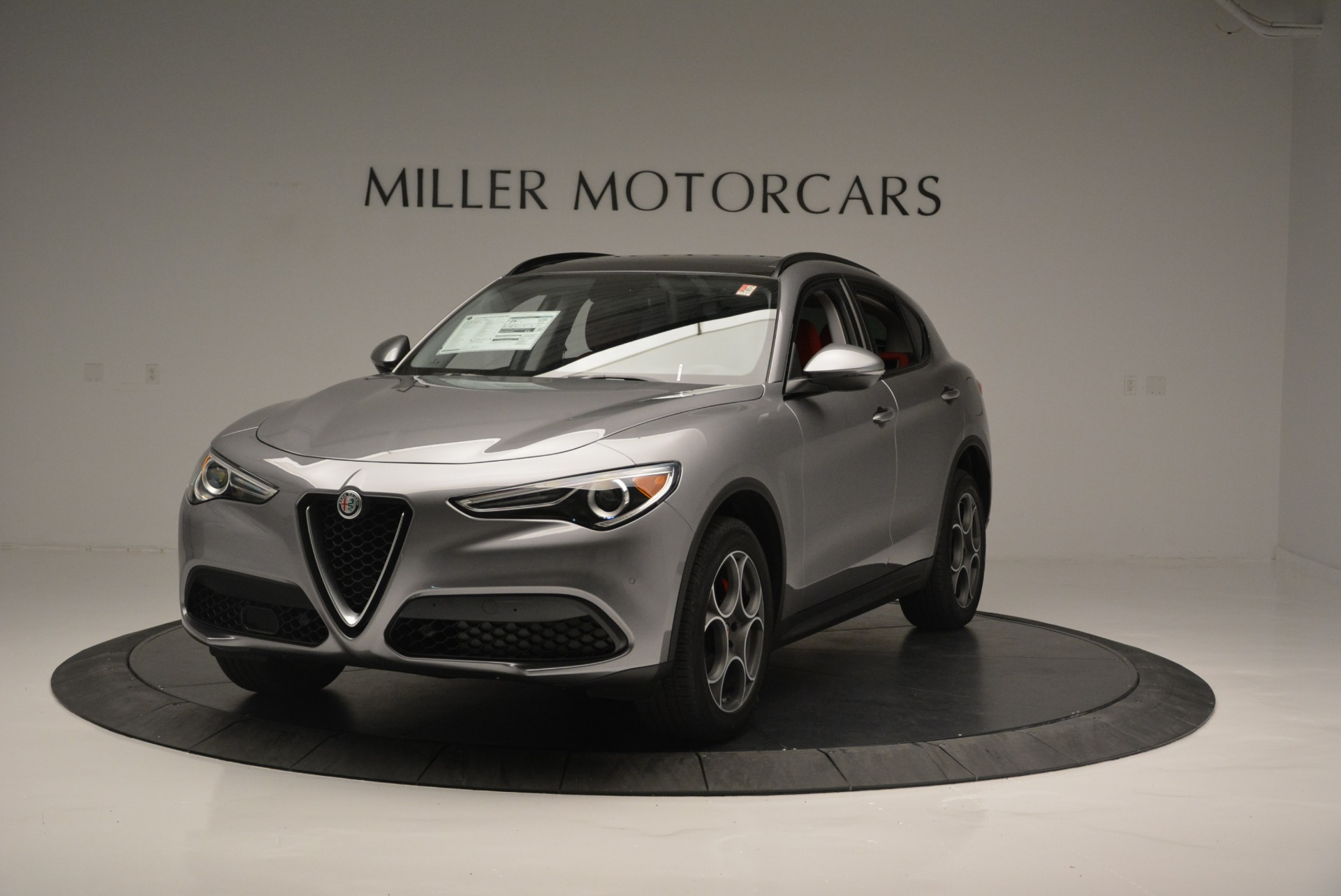 New 2018 Alfa Romeo Stelvio Sport Q4 for sale Sold at Alfa Romeo of Westport in Westport CT 06880 1