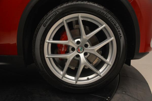 New 2018 Alfa Romeo Stelvio Ti Sport Q4 for sale Sold at Alfa Romeo of Westport in Westport CT 06880 25