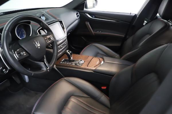 Used 2018 Maserati Ghibli S Q4 for sale Sold at Alfa Romeo of Westport in Westport CT 06880 14