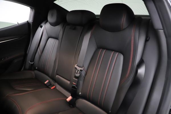 Used 2018 Maserati Ghibli S Q4 for sale Sold at Alfa Romeo of Westport in Westport CT 06880 21