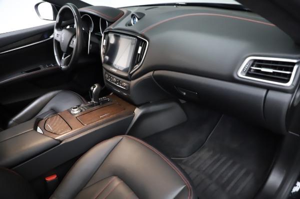 Used 2018 Maserati Ghibli S Q4 for sale Sold at Alfa Romeo of Westport in Westport CT 06880 23