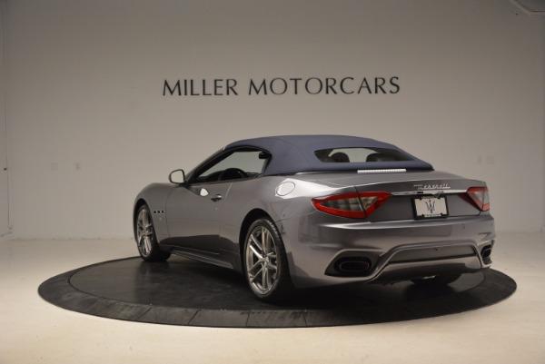 Used 2018 Maserati GranTurismo Sport Convertible for sale Sold at Alfa Romeo of Westport in Westport CT 06880 10