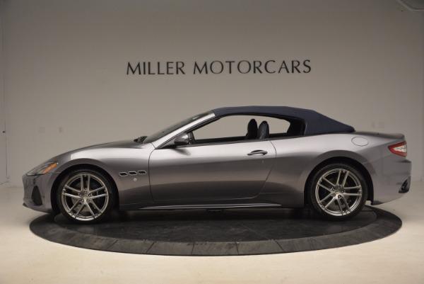 New 2018 Maserati GranTurismo Sport Convertible for sale Sold at Alfa Romeo of Westport in Westport CT 06880 6