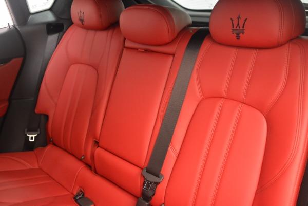 New 2018 Maserati Levante Q4 GranLusso for sale Sold at Alfa Romeo of Westport in Westport CT 06880 18