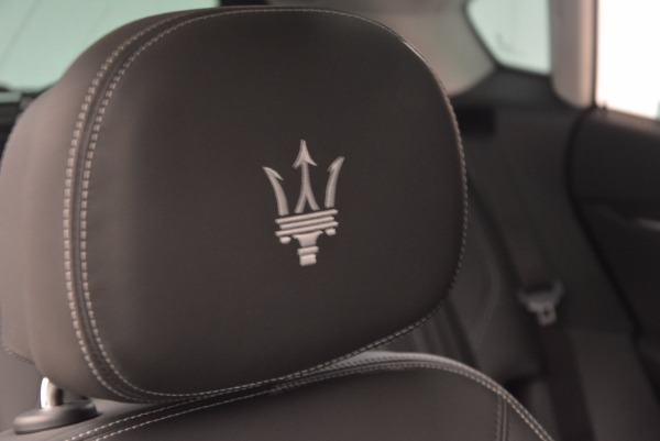 New 2018 Maserati Levante Q4 GranLusso for sale Sold at Alfa Romeo of Westport in Westport CT 06880 26