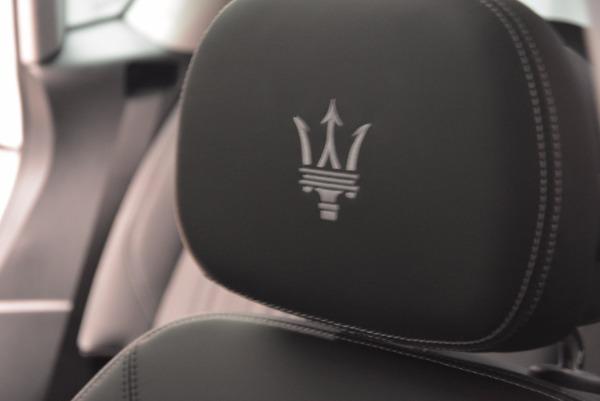 New 2018 Maserati Levante Q4 GranLusso for sale Sold at Alfa Romeo of Westport in Westport CT 06880 27