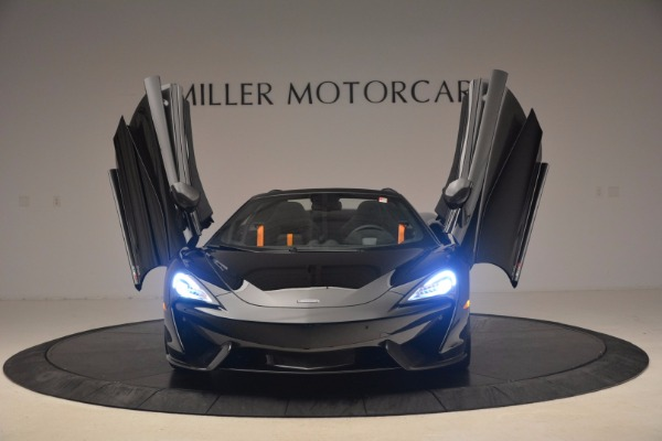 Used 2018 McLaren 570S Spider for sale Sold at Alfa Romeo of Westport in Westport CT 06880 21