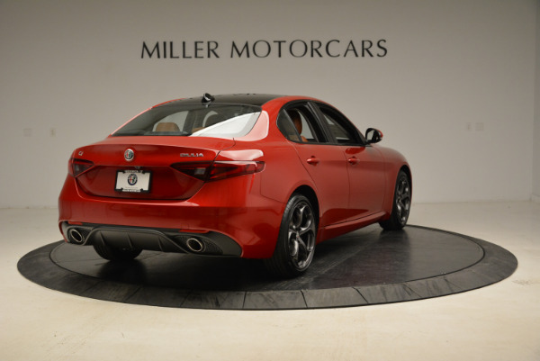 New 2018 Alfa Romeo Giulia Ti Sport Q4 for sale Sold at Alfa Romeo of Westport in Westport CT 06880 7