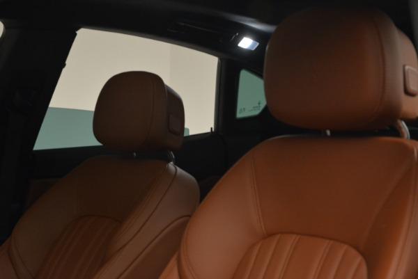 New 2018 Maserati Levante Q4 GranLusso for sale Sold at Alfa Romeo of Westport in Westport CT 06880 12
