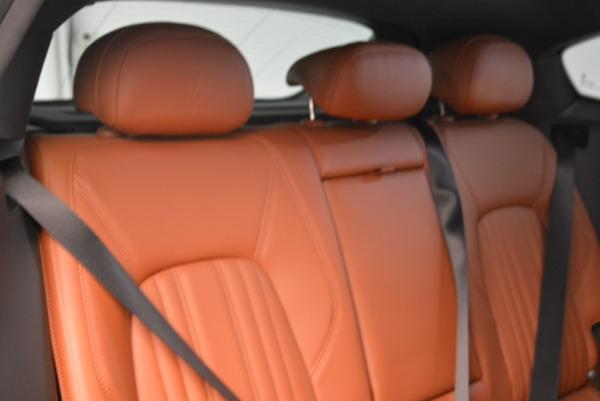 New 2018 Maserati Levante Q4 GranLusso for sale Sold at Alfa Romeo of Westport in Westport CT 06880 20