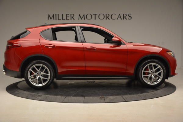 New 2018 Alfa Romeo Stelvio Ti Sport Q4 for sale Sold at Alfa Romeo of Westport in Westport CT 06880 9