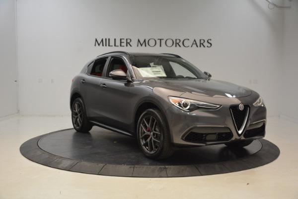 New 2018 Alfa Romeo Stelvio Ti Sport Q4 for sale Sold at Alfa Romeo of Westport in Westport CT 06880 11