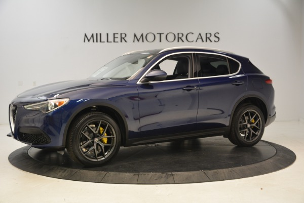 New 2018 Alfa Romeo Stelvio Sport Q4 for sale Sold at Alfa Romeo of Westport in Westport CT 06880 2