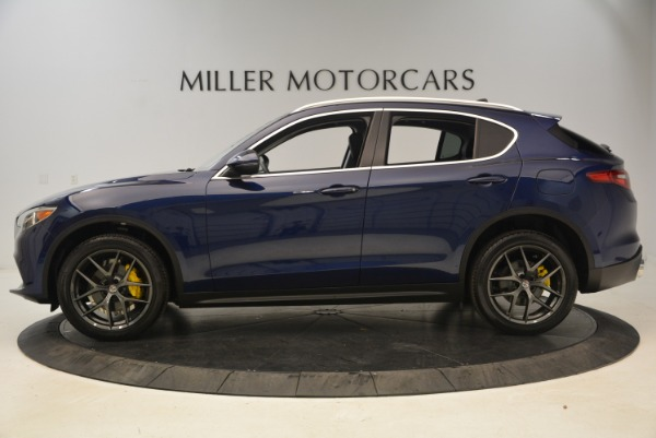 New 2018 Alfa Romeo Stelvio Sport Q4 for sale Sold at Alfa Romeo of Westport in Westport CT 06880 3