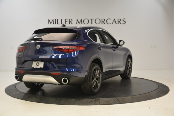 New 2018 Alfa Romeo Stelvio Sport Q4 for sale Sold at Alfa Romeo of Westport in Westport CT 06880 7