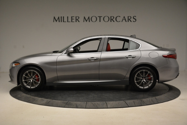 New 2018 Alfa Romeo Giulia Q4 for sale Sold at Alfa Romeo of Westport in Westport CT 06880 3