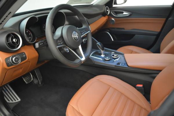New 2018 Alfa Romeo Giulia Ti Lusso Q4 for sale Sold at Alfa Romeo of Westport in Westport CT 06880 13