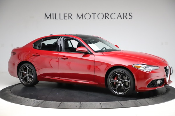 Used 2018 Alfa Romeo Giulia Ti Sport Q4 for sale $31,900 at Alfa Romeo of Westport in Westport CT 06880 10
