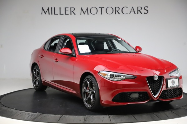 Used 2018 Alfa Romeo Giulia Ti Sport Q4 for sale $31,900 at Alfa Romeo of Westport in Westport CT 06880 11