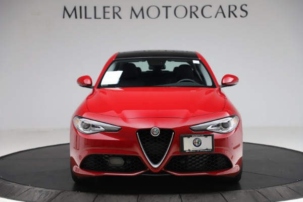 Used 2018 Alfa Romeo Giulia Ti Sport Q4 for sale $31,900 at Alfa Romeo of Westport in Westport CT 06880 12