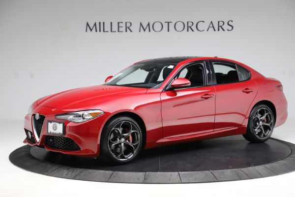 Used 2018 Alfa Romeo Giulia Ti Sport Q4 for sale $31,900 at Alfa Romeo of Westport in Westport CT 06880 2