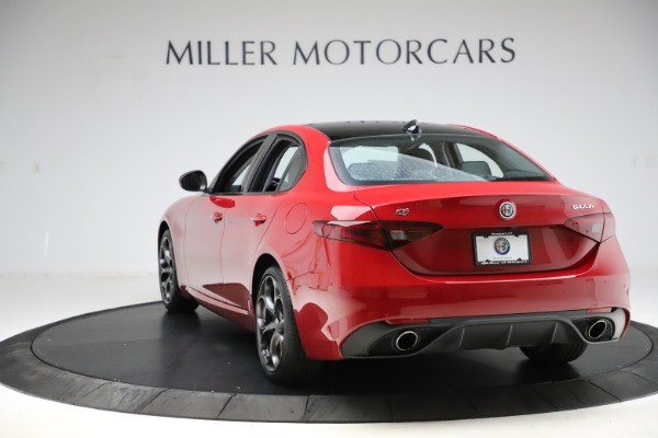 Used 2018 Alfa Romeo Giulia Ti Sport Q4 for sale $31,900 at Alfa Romeo of Westport in Westport CT 06880 5
