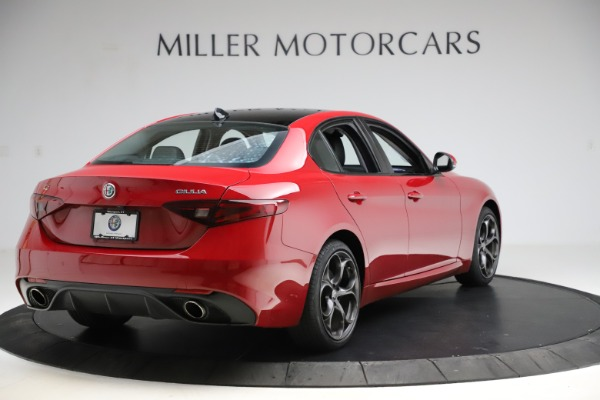 Used 2018 Alfa Romeo Giulia Ti Sport Q4 for sale $31,900 at Alfa Romeo of Westport in Westport CT 06880 7