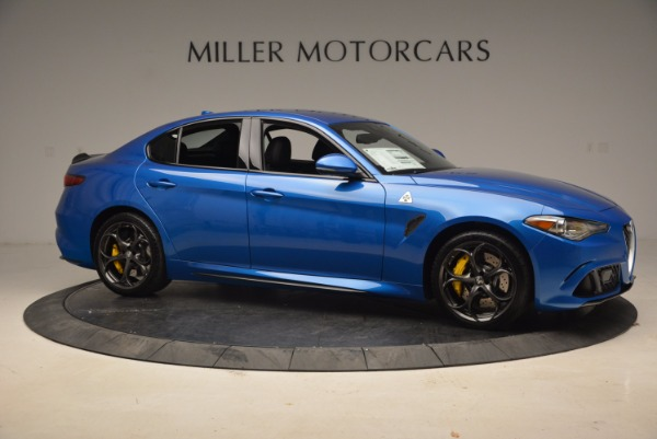 New 2018 Alfa Romeo Giulia Quadrifoglio for sale Sold at Alfa Romeo of Westport in Westport CT 06880 10