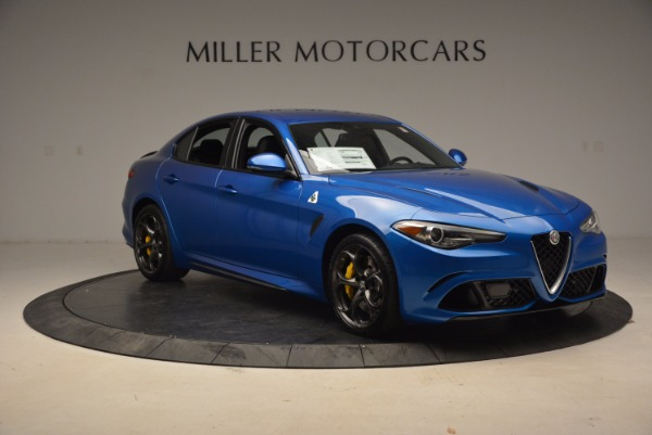 New 2018 Alfa Romeo Giulia Quadrifoglio for sale Sold at Alfa Romeo of Westport in Westport CT 06880 11