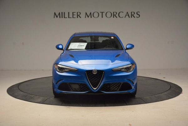 New 2018 Alfa Romeo Giulia Quadrifoglio for sale Sold at Alfa Romeo of Westport in Westport CT 06880 12
