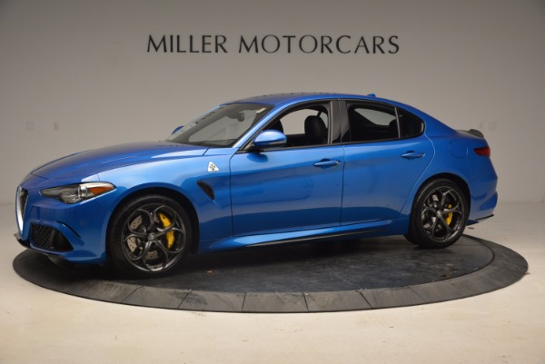 New 2018 Alfa Romeo Giulia Quadrifoglio for sale Sold at Alfa Romeo of Westport in Westport CT 06880 2