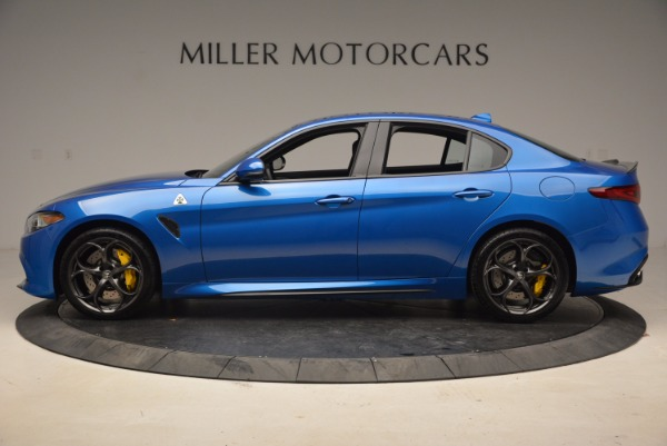 New 2018 Alfa Romeo Giulia Quadrifoglio for sale Sold at Alfa Romeo of Westport in Westport CT 06880 3