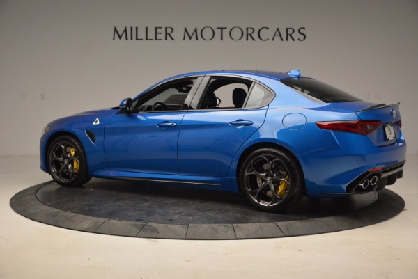 New 2018 Alfa Romeo Giulia Quadrifoglio for sale Sold at Alfa Romeo of Westport in Westport CT 06880 4