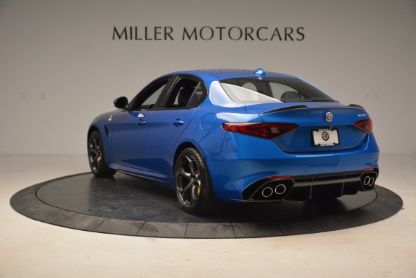 New 2018 Alfa Romeo Giulia Quadrifoglio for sale Sold at Alfa Romeo of Westport in Westport CT 06880 5