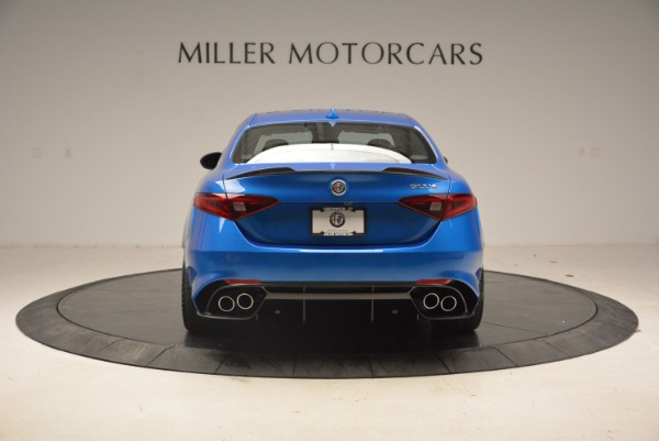 New 2018 Alfa Romeo Giulia Quadrifoglio for sale Sold at Alfa Romeo of Westport in Westport CT 06880 6