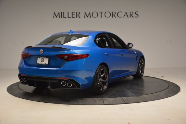 New 2018 Alfa Romeo Giulia Quadrifoglio for sale Sold at Alfa Romeo of Westport in Westport CT 06880 7