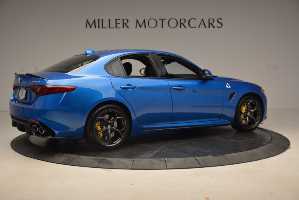 New 2018 Alfa Romeo Giulia Quadrifoglio for sale Sold at Alfa Romeo of Westport in Westport CT 06880 8