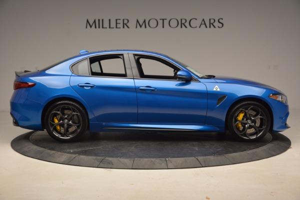 New 2018 Alfa Romeo Giulia Quadrifoglio for sale Sold at Alfa Romeo of Westport in Westport CT 06880 9