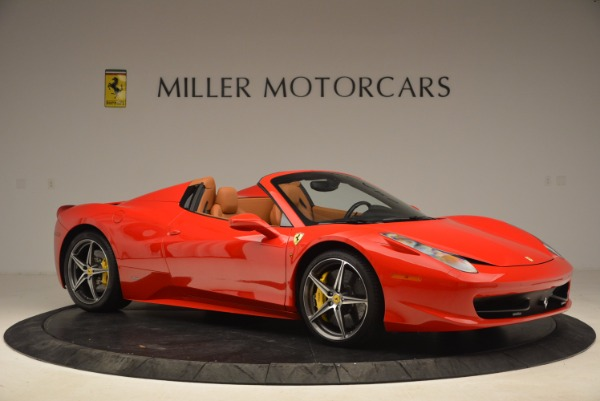 Used 2013 Ferrari 458 Spider for sale Sold at Alfa Romeo of Westport in Westport CT 06880 10