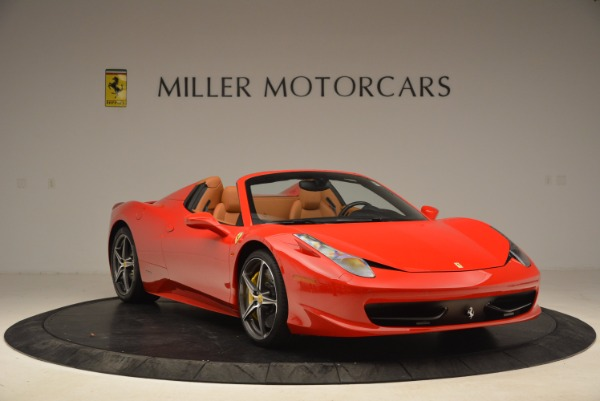 Used 2013 Ferrari 458 Spider for sale Sold at Alfa Romeo of Westport in Westport CT 06880 11
