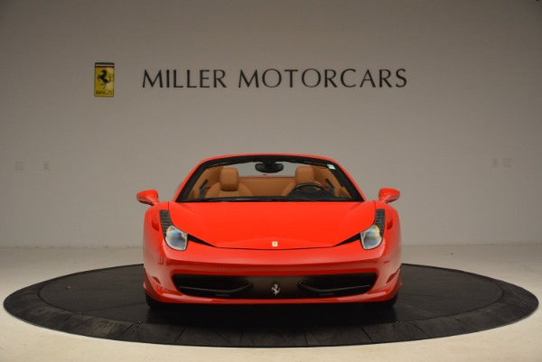 Used 2013 Ferrari 458 Spider for sale Sold at Alfa Romeo of Westport in Westport CT 06880 12