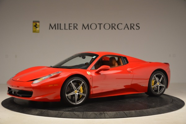 Used 2013 Ferrari 458 Spider for sale Sold at Alfa Romeo of Westport in Westport CT 06880 14
