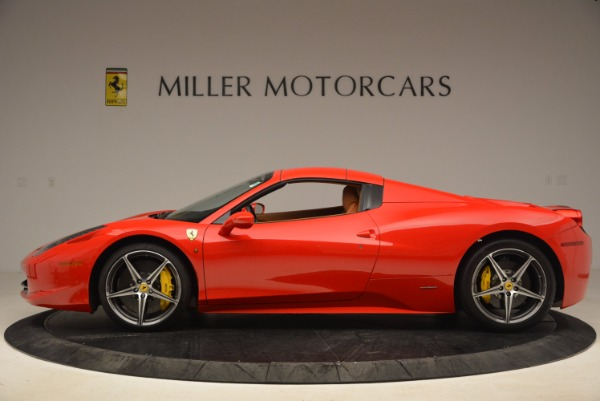 Used 2013 Ferrari 458 Spider for sale Sold at Alfa Romeo of Westport in Westport CT 06880 15