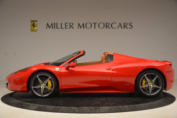 Used 2013 Ferrari 458 Spider for sale Sold at Alfa Romeo of Westport in Westport CT 06880 3