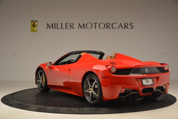 Used 2013 Ferrari 458 Spider for sale Sold at Alfa Romeo of Westport in Westport CT 06880 5